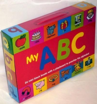 Carte cu activitati My ABC Mini Books (1760/ABCBX)