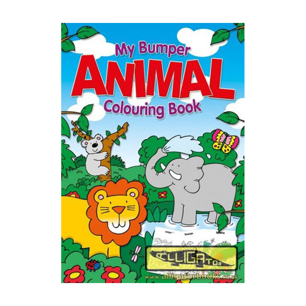 Animal Jumbo Colouring Book, Marea carte de colorat- Animale (070/ANJC)